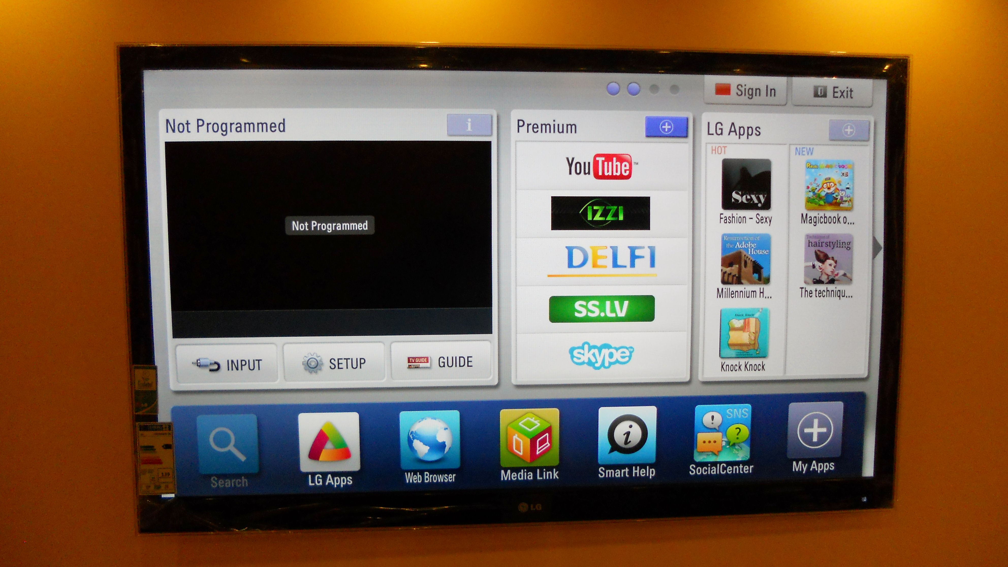 All new smart TV emmits high radiation - wifi blasts all day