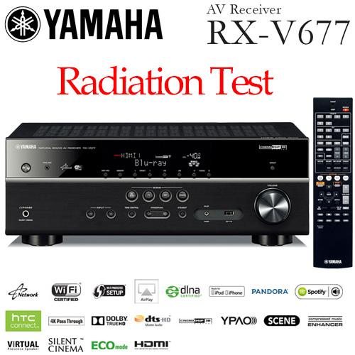 Yamaha RX-V677 Radiation Test